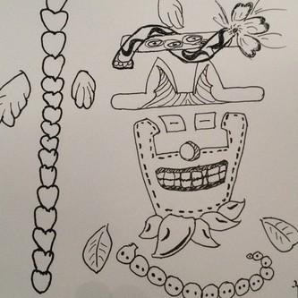 儿童画 简笔画 手绘 线稿 333_333