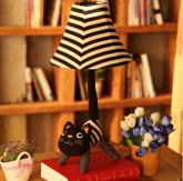 萌宠布猫款尾巴小台灯