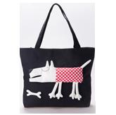 萌物狗狗卡通立体布包