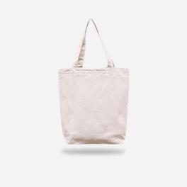 時尚款米色帆布包