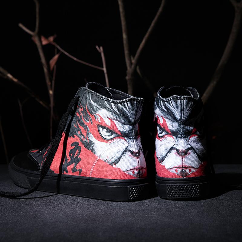 悟 自由涂鸦中帮女涂鸦鞋