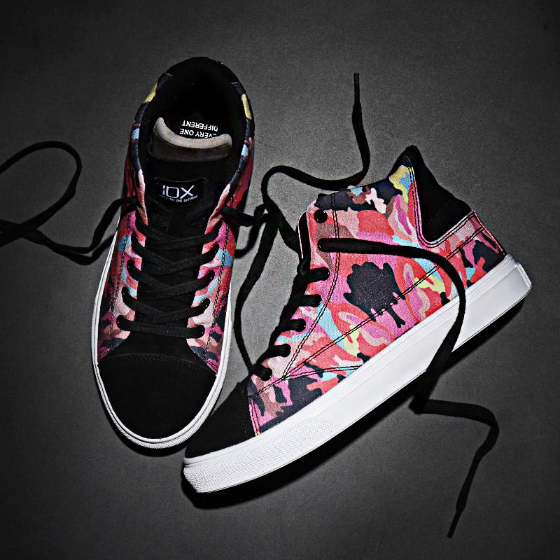 IDX NEW 多舌怪之霓虹板鞋