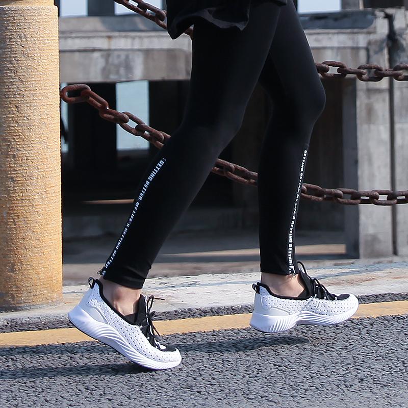 阴阳炫彩鞋--黑白  女