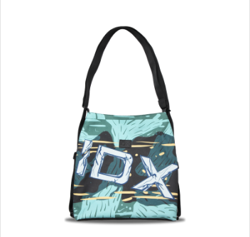 IDX 两用涂鸦帆布包