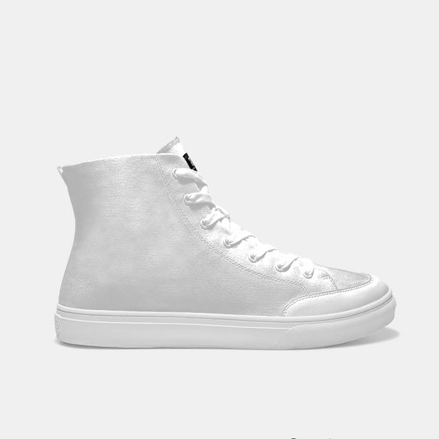 輕效滑板2.0中幫男涂鴉鞋